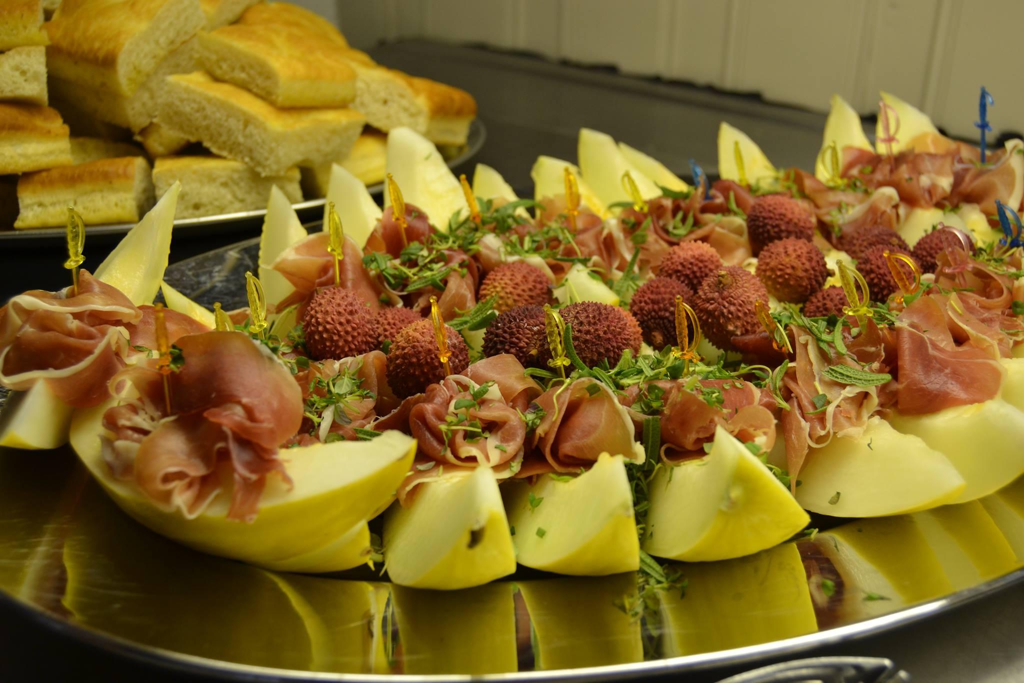 Melon og spekeskinke