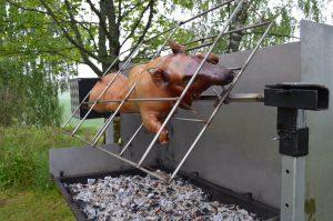 Helstekt gris.